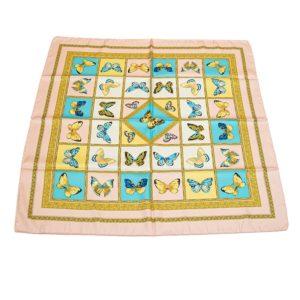 foulard a fantasia farfalle gialle